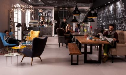 IMM Köln Wohntrend 2013: Cosy Living im Industrial Loft (BILD ...