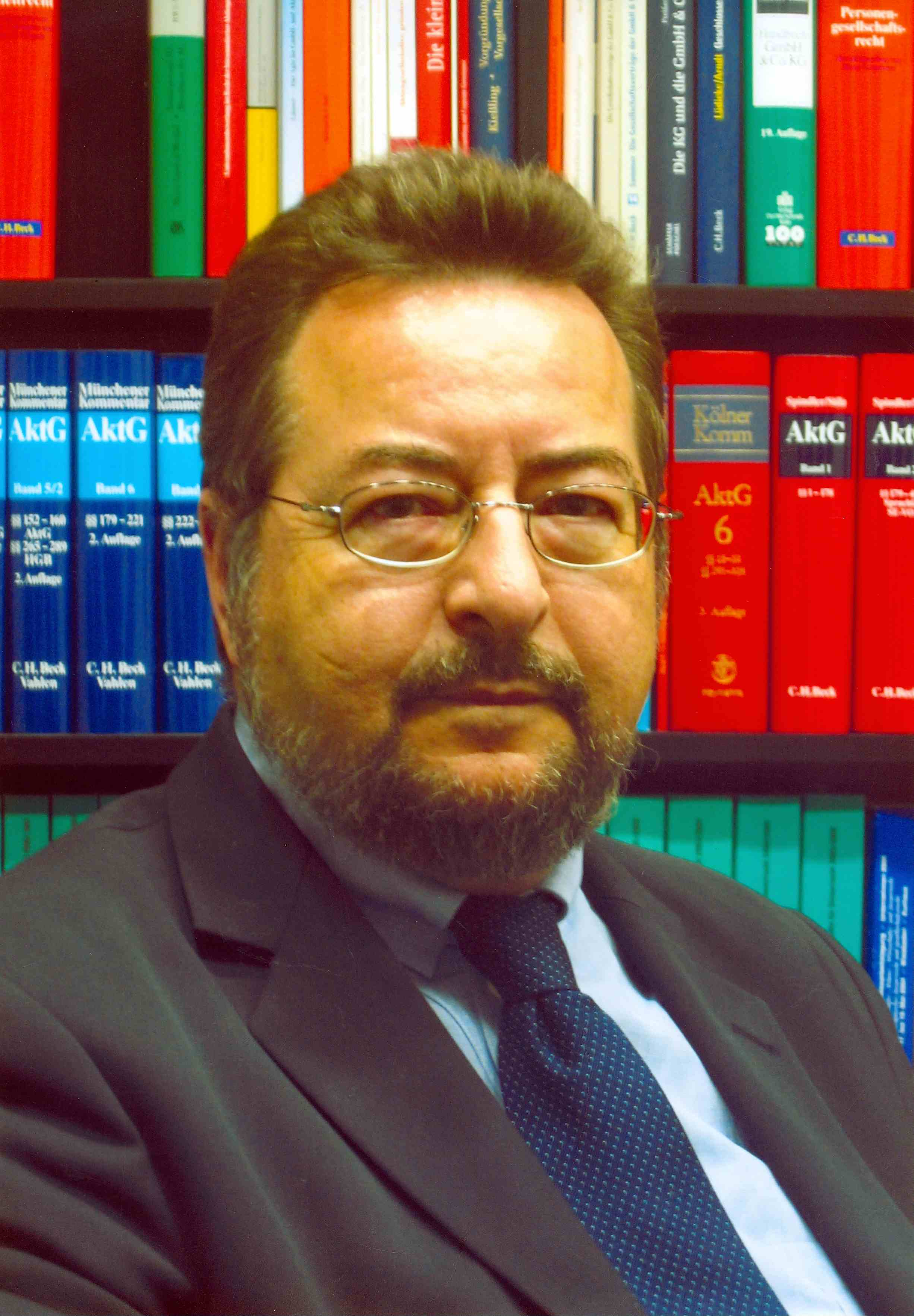 RA <b>Manfred Wissmann</b> – Vorstand Hans Soldan Stiftung - 872121